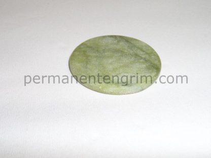 камъче за лепило за мигли косъм по косъм и 3D мигли, нефрит камък плосък