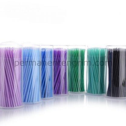 микроапликатори за мигли , материали за мигли
